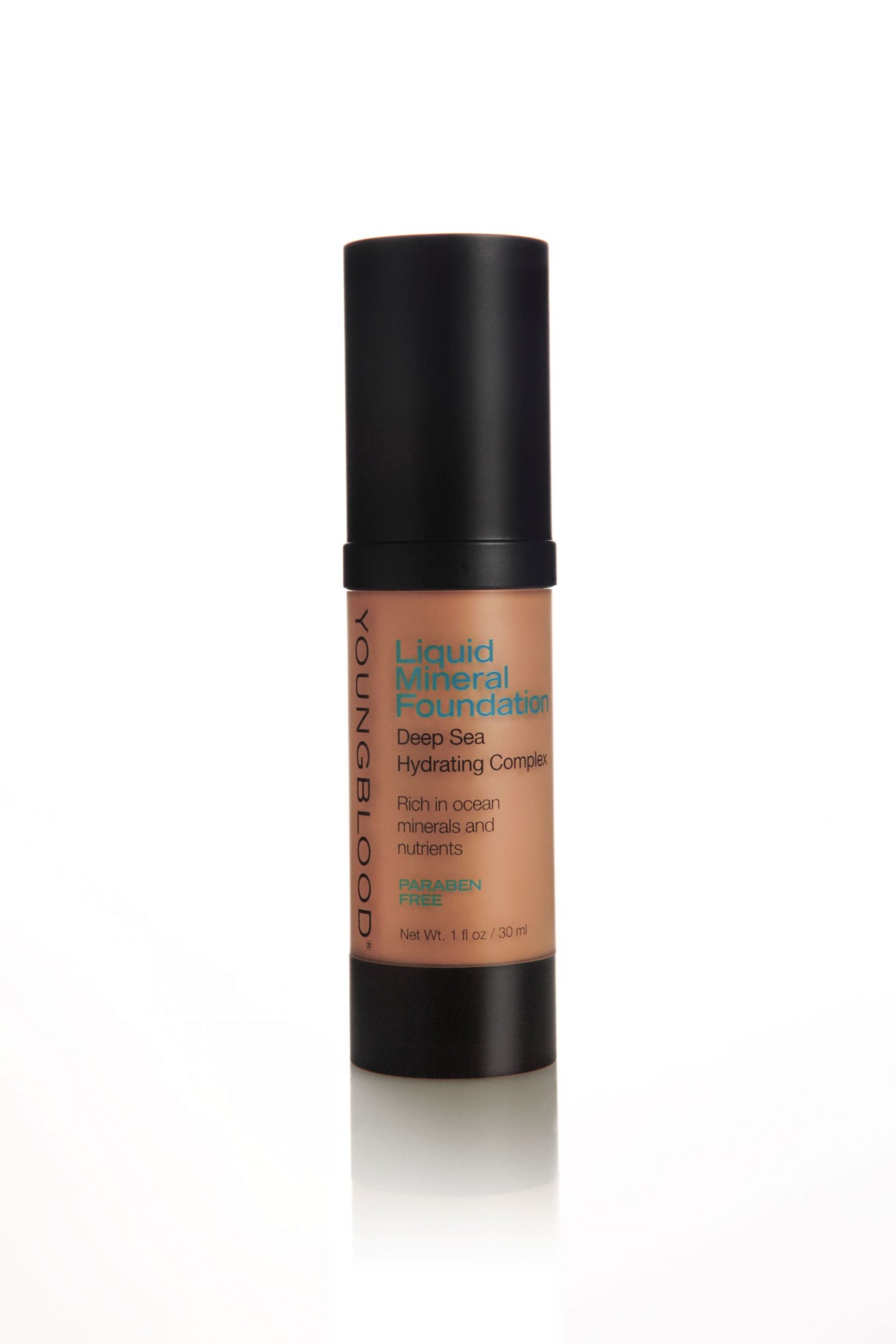 Youngblood | Liquid Mineral Foundation | Suntan