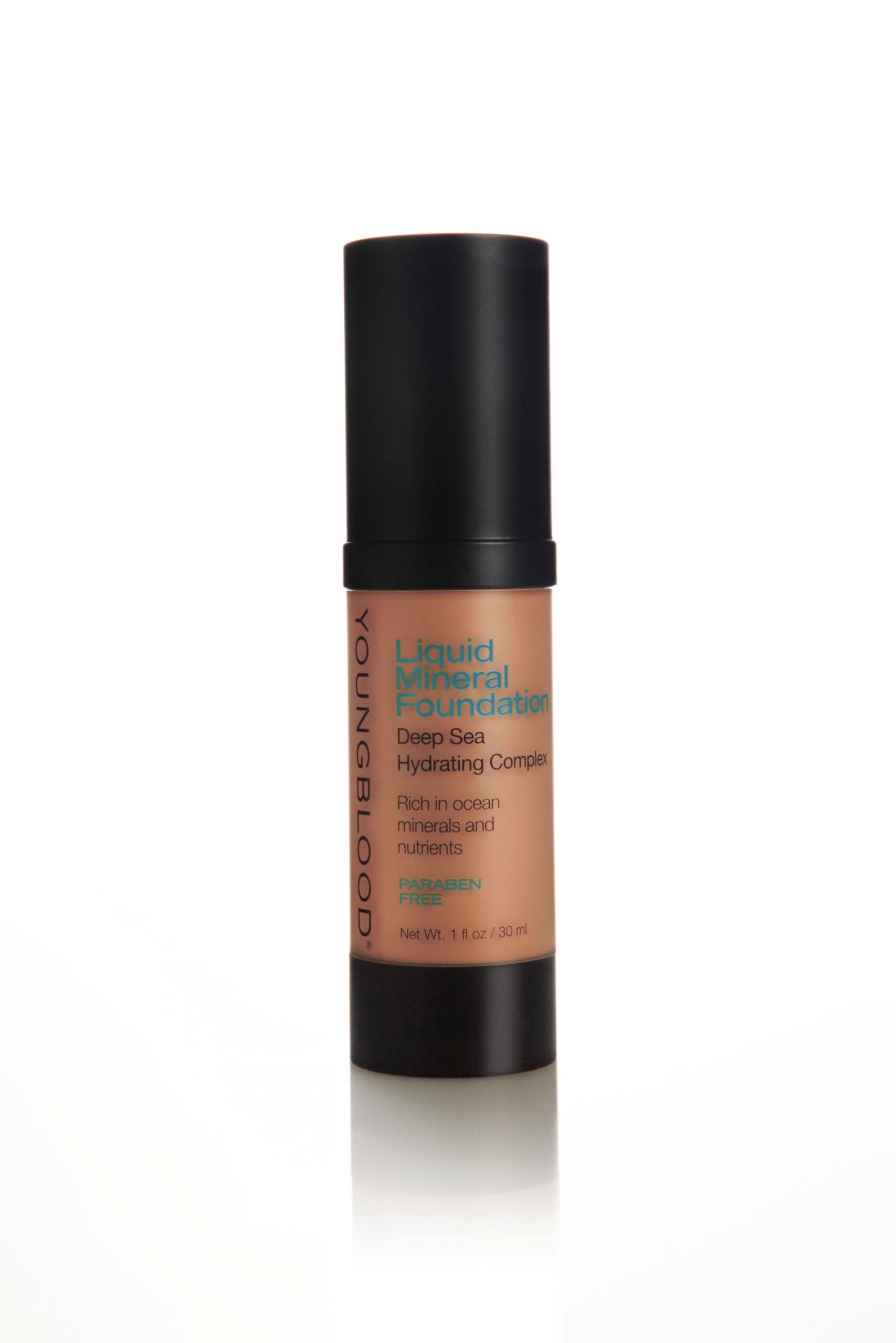 Youngblood | Liquid Mineral Foundation | Tahitian Sun