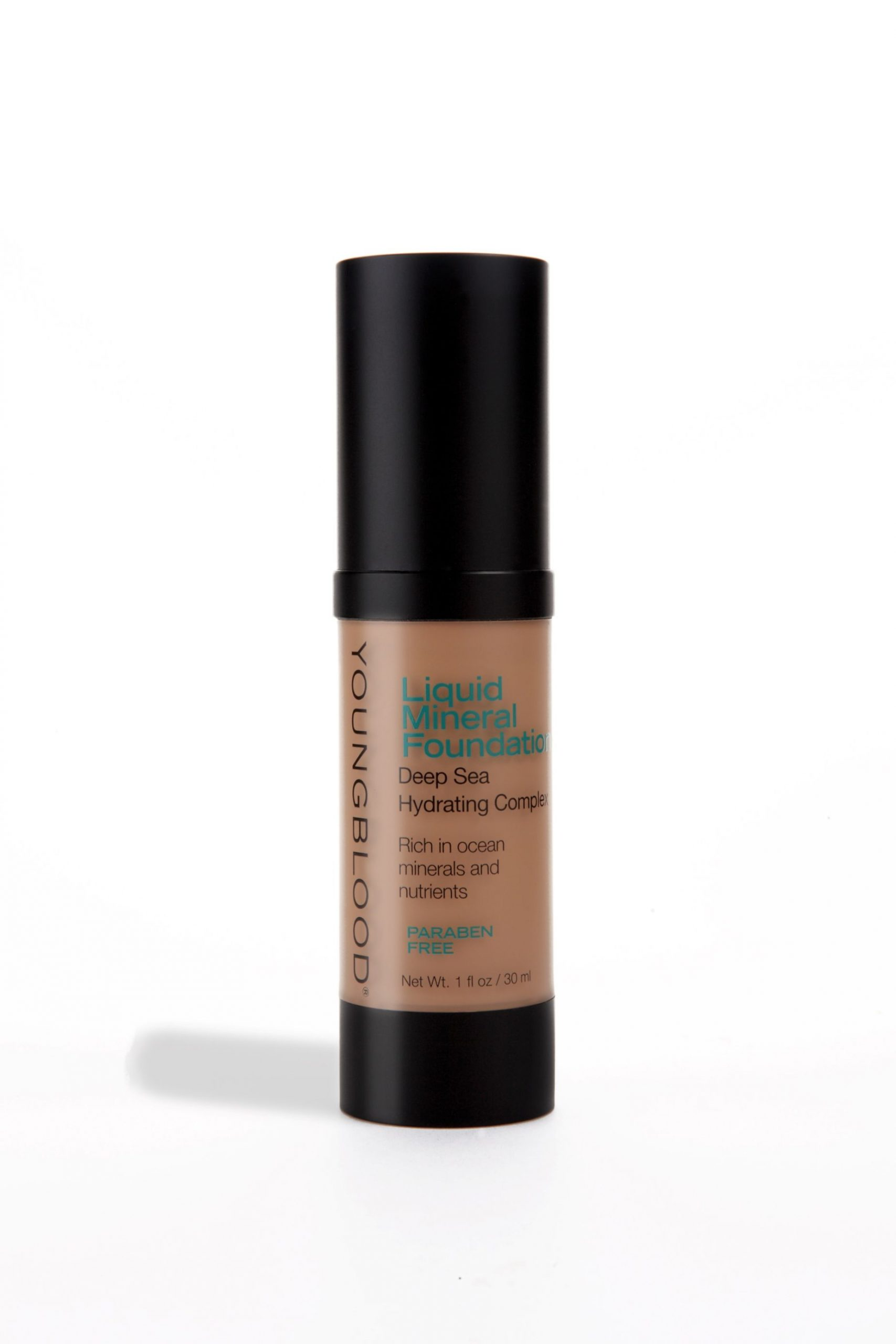 Youngblood | Liquid Mineral Foundation |  Caribbean