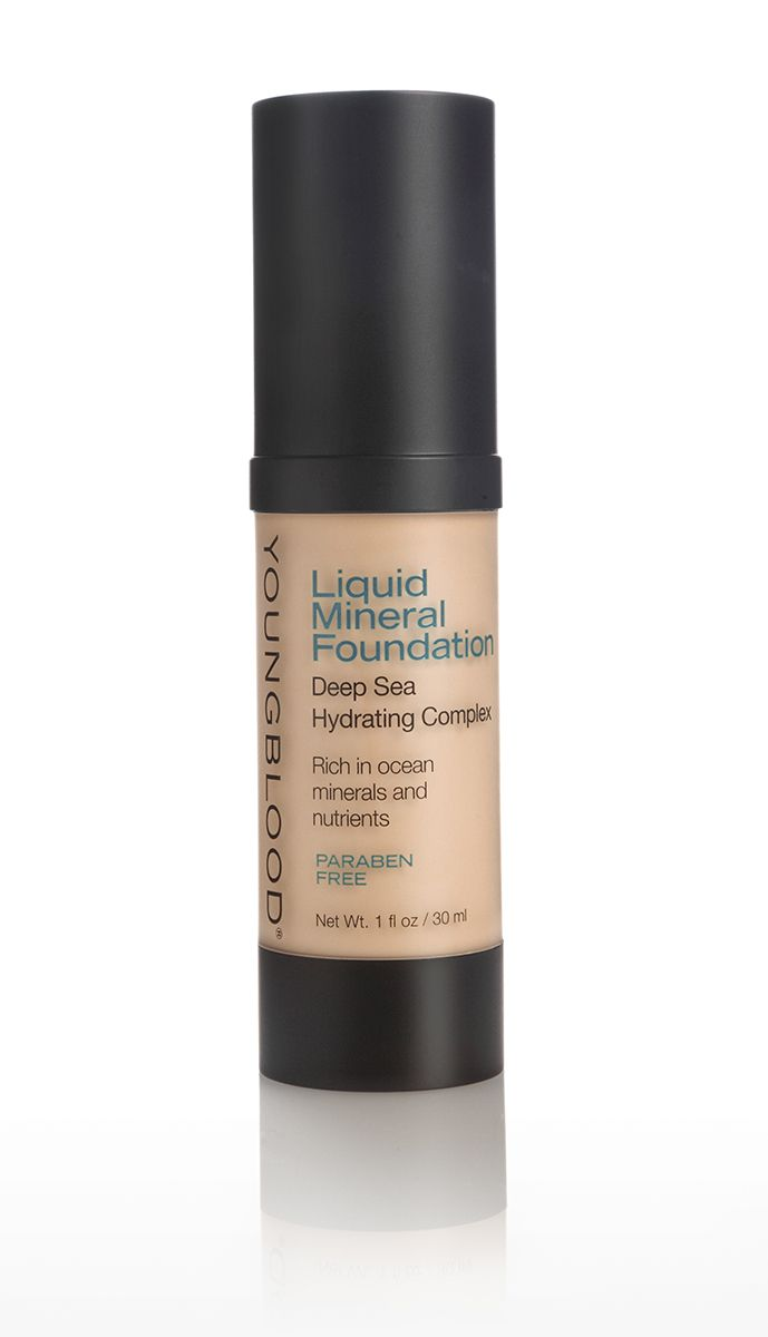 Youngblood | Liquid Mineral Foundation | Capri
